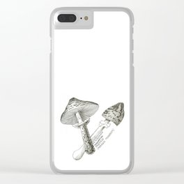 Some Fun-Guys Clear iPhone Case