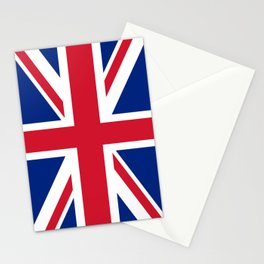 UK FLAG - The Union Jack Authentic color and 3:5 scale  Stationery Cards