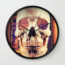 Infinity Frequencies Wall Clock