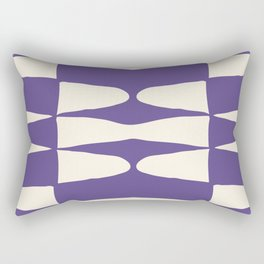 Zaha Ultra Violet Rectangular Pillow