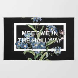 Harry Styles Meet me in the hallway graphic design artwork Rug