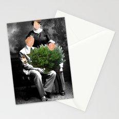Family Portrait - Valentines day Stationery Cards