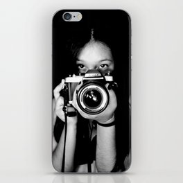 Self-Portrait iPhone Skin