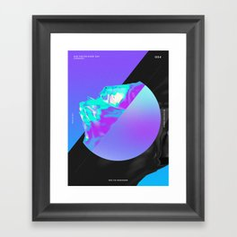 One Poster Every Day #4 Framed Art Print