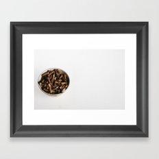 21st century breakfast Framed Art Print