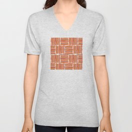 Watercolor Lines One Unisex V-Neck