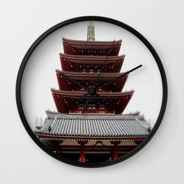 Five-storied Pagoda - Senso-ji Wall Clock