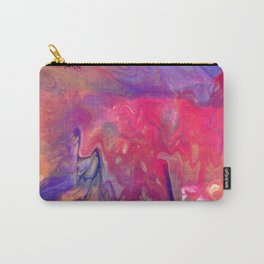 AcrylicFlow #1102 - Sunset Flow Carry-All Pouch