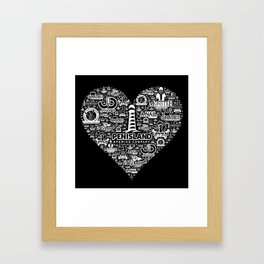Pen Island Brewing Company Love Reverse Framed Art Print