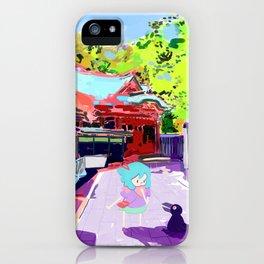 Enoshima Island iPhone Case
