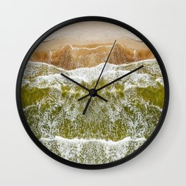 Baltic sea, aerial view Wall Clock
