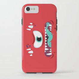 Baddest Red Monster! iPhone Case