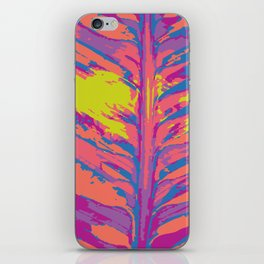 leafy coral iPhone Skin