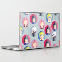 naruto Laptop & iPad Skins featuring Naruto icons by Maha Akl