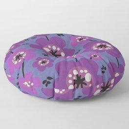 Mariposa in Violet Floor Pillow