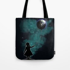 The Girl That Holds The World Tote Bag
