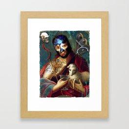 Santo Sangre Framed Art Print