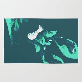 Cyan Kraken Rug