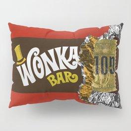 opened chocolate bar Pillow Sham