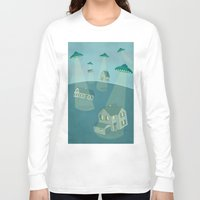 ufo Long Sleeve T-shirts featuring UFO by Banessa Millet