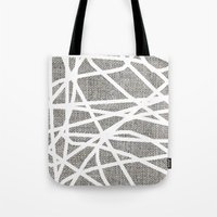rush Tote Bags featuring Rush by xoxo
