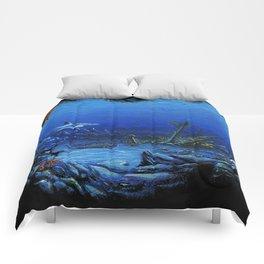 deep sea Comforters