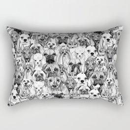 just dogs Rectangular Pillow