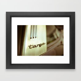 Targa Framed Art Print