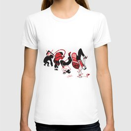 What the next step on the evolution of Dance? T-shirt