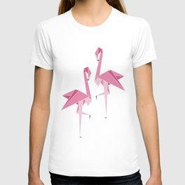 Origami Flamingo T-shirt