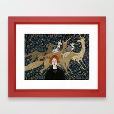 animals Framed Art Print