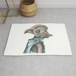 Elf Watercolor Rug