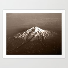 Soaring Above the Mountains Art Print