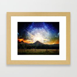 Starfall and Other such Nonsense Framed Art Print