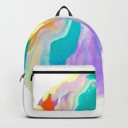 Deep Sea Colorful Surprises Marbling Backpack