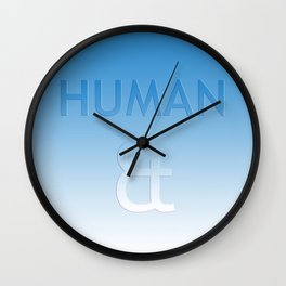 Human et – Humanity Colour Wall Clock
