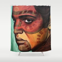 Aaron, inspired by Elvis Shower Curtain