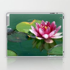 Pink Waterlilly Laptop & iPad Skin