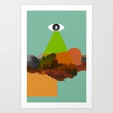 Stargate 001 Art Print