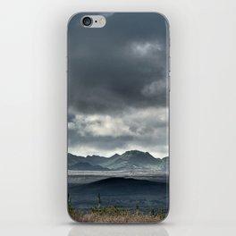 On a hike iPhone Skin
