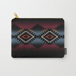 aztec in black number 5 Carry-All Pouch