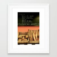 bread Framed Art Prints featuring Bread by Stacey P Keating