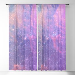 SPACE Sheer Curtain