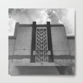 Deserted Deco Metal Print