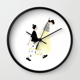 Japanese mood Wall Clock