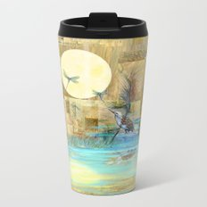 Nature Reflected Series: Wishing on the Moon  Metal Travel Mug