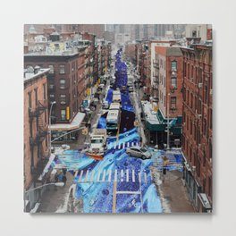 the streets  Metal Print