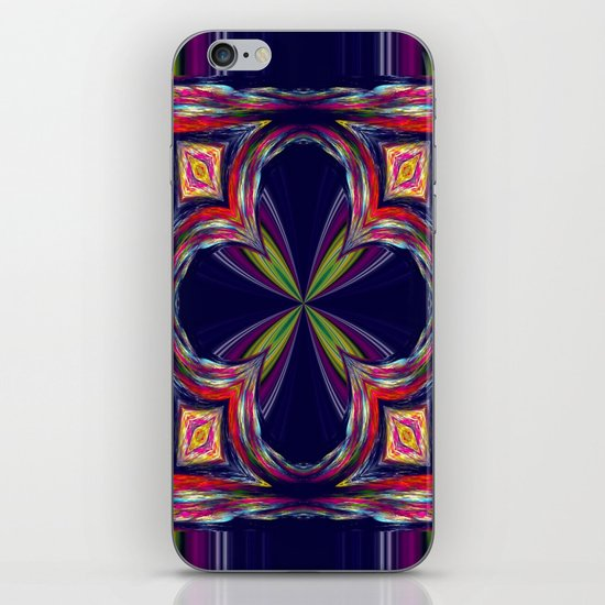 Colorful Square iPhone & iPod Skin