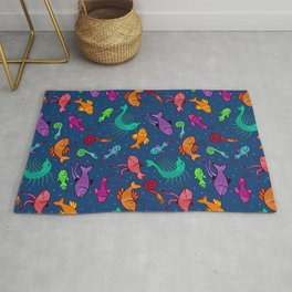 extraordinary sea creatures Rug