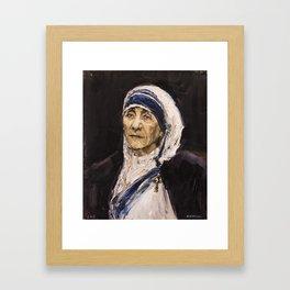 St. Teresa of Calcutta Framed Art Print